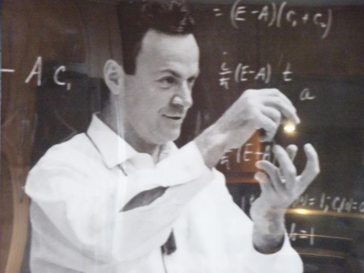 Bertrand Russell, Richard Feynman andMe